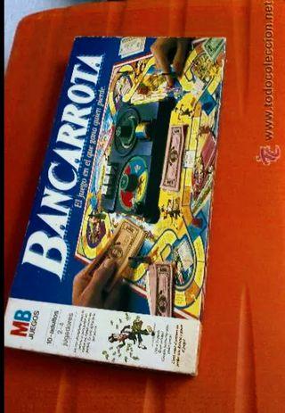 juego de mesa bancarrota año 1985