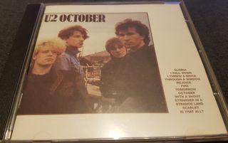 U2 CD 1981 October