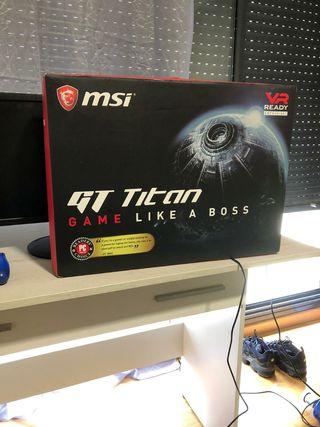MSI Gt75 VR TITAN Pro