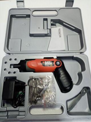 atornillador electrico black & decker kc 9036