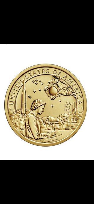 Moneda dólar nativo americano 2019 P, sin circular