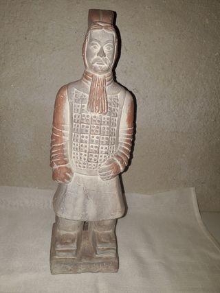Escultura De Guerrero De Xi'an