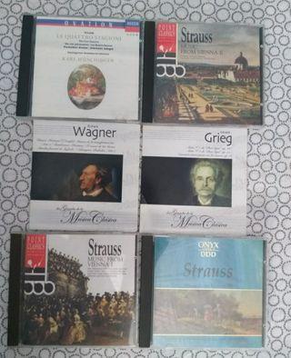 cd música clásica