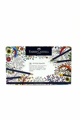 Caja 36 lápices Art Grip Aquarelle Faber Castell