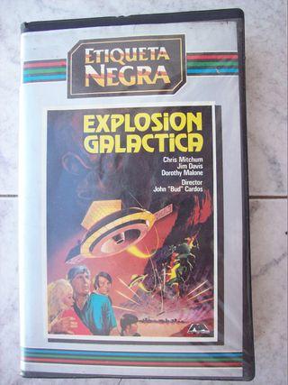 EXPLOSION GALACTICA VHS