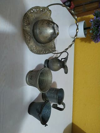 objetos de plata