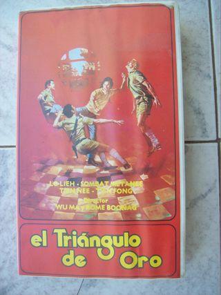 EL TRIANGULO DE ORO VHS