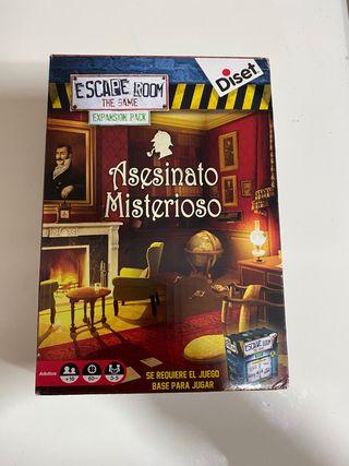 Extensión Escape Room Asesinato Misterioso
