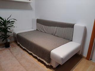 Sofá cama con contenedor