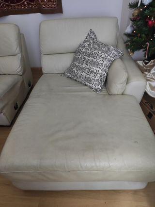 sofá, sillón, chaiselongue en piel original