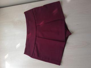falda pantalón buldeos