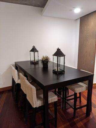 Mesas altas de Salon