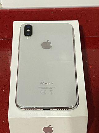 IPhone X 64gb, color blanco