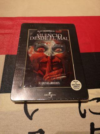 steelbook DVD Silencio desde el mal