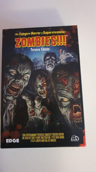 Zombies Tercera Edición