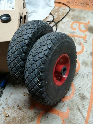 ruedas de carretilla