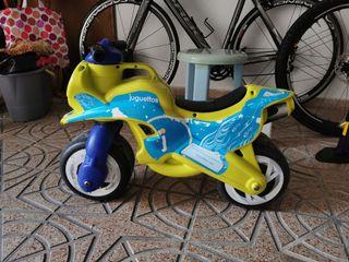 moto niños