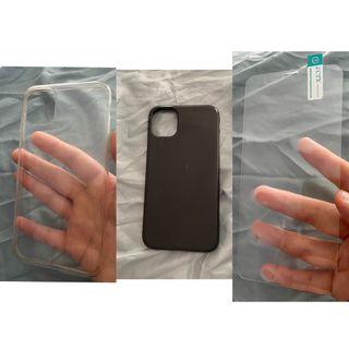Lote Fundas + Protector Cristal IPhone 11
