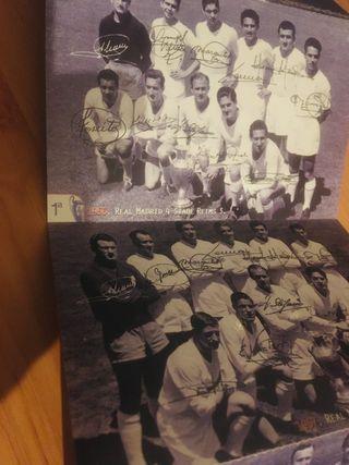 Postales Real Madrid Champions