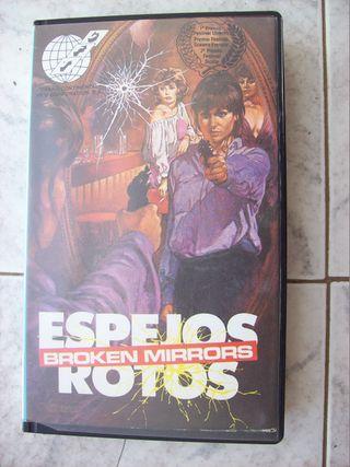 BROKEN MIRRORS ESPEJOS ROTOS VHS