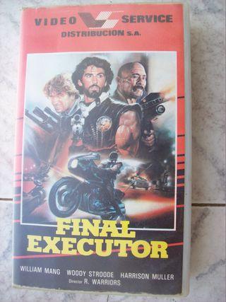 FINAL EXECUTOR VHS
