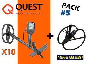 PACK: Quest X10 + Plato Hispania SUPER MAXIMO