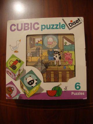 Juguete puzzle de cubos nuevo
