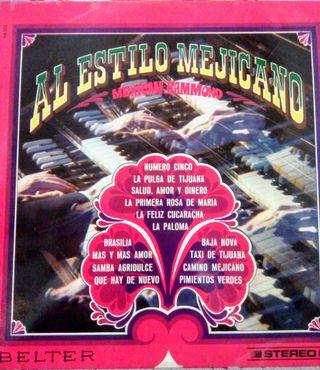 Disco Vinilo Mexican Hammond