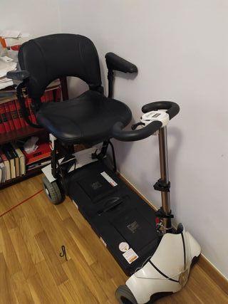 scooter silla ruedas plegable