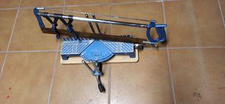 sierra de inglete multiposición manual