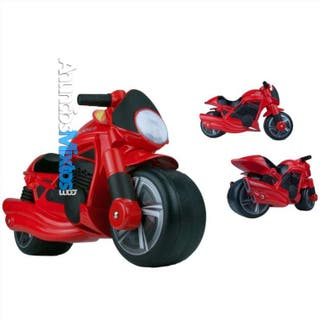 Moto para niños roja 189