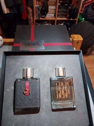 Estuche regalo perfume y aftershave Carolina H