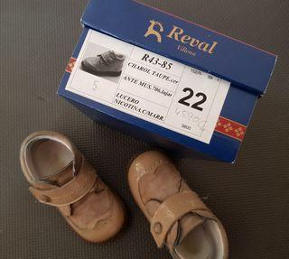Zapato charol y Ante