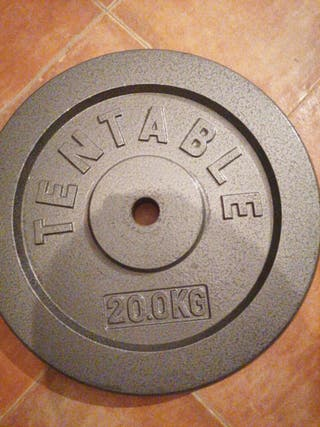 disco tentable 20 kg