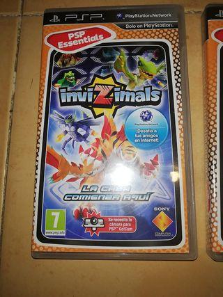 juegos psp invizimas pack 3 juegos