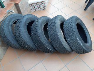 5 Neumáticos Insa Turbo 205/70 R15