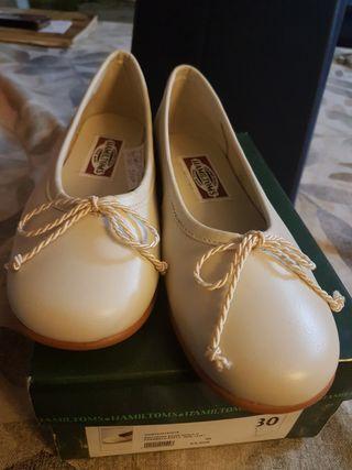 talla 30 bailarinas beige