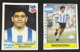 "Maradona - Cromos del "" PELUSA """