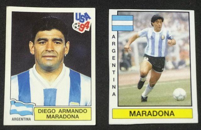 Maradona lote 5 cromos - ROOKIE