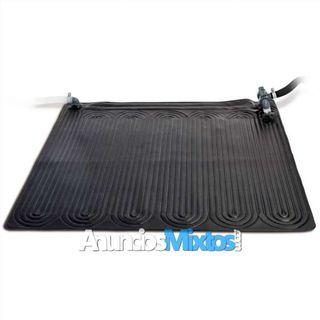 Esterilla calefactora solar PVC 1,2x1,2 m negra 28
