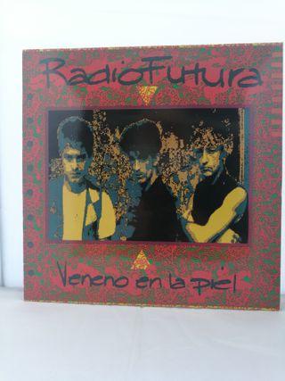 LP, Radio Futura, Veneno en la Piel, EX/EX. 1990