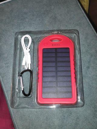 Cargador solar 4.000mAh