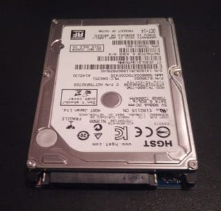 Disco Duro Sata 2.5; 750 Gb