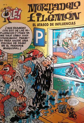 """Cómics """"Mortadelo y Filemón"""""""