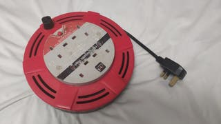 4 SOCKET REEL EXTENSION LEAD CABLE
