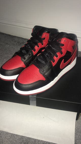 "Jordan 1 ""Banned Bred"" Size 4&5UK"