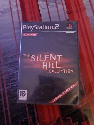 juego play 2 silente hill collection