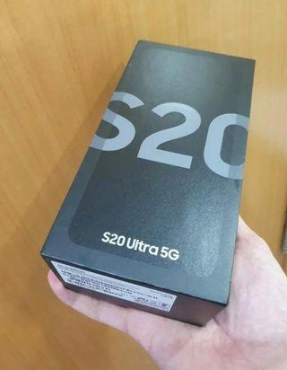 samsung s20 ultra gris precintado y factura