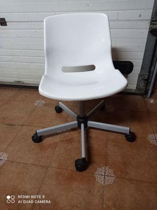 silla niño blanca