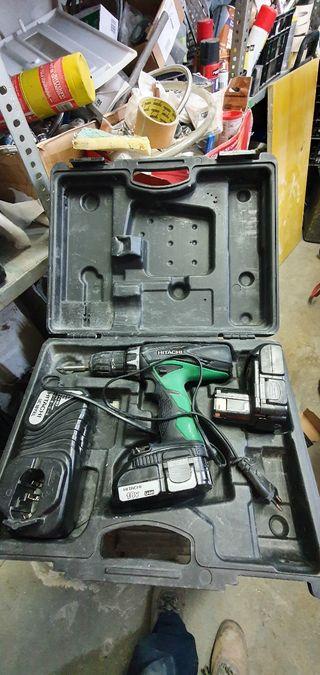 atornillador taladro a bateria